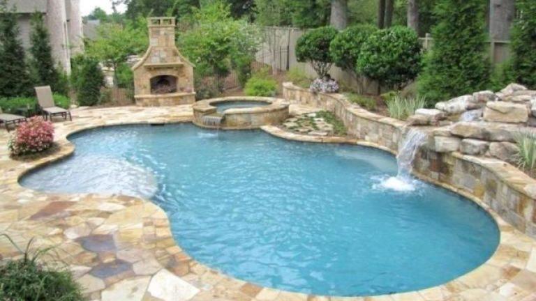 Gorgeous Summer Outdoor Pool Design Ideas 12