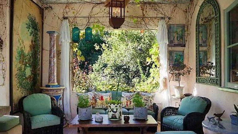 Amazing Bohemian Farmhouse Living Room Design Ideas 26