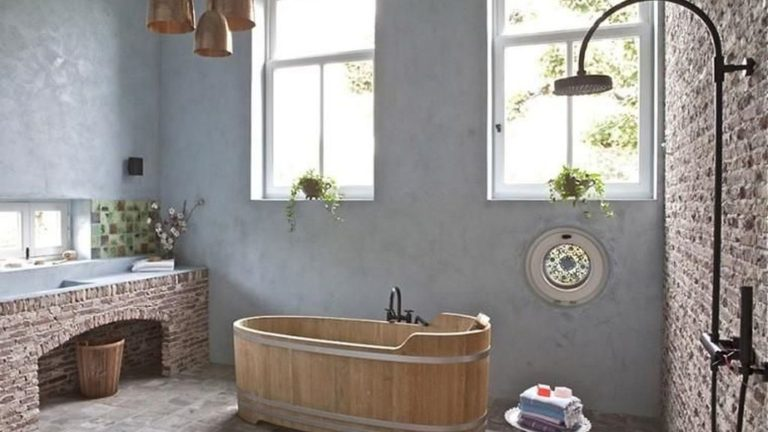 Amazing Rustic Barn Bathroom Decor Ideas 03