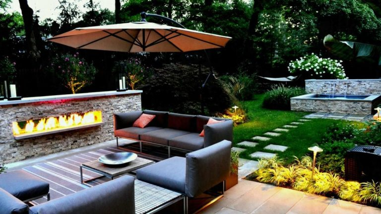 Awesome Outstanding Backyards Design Ideas 24