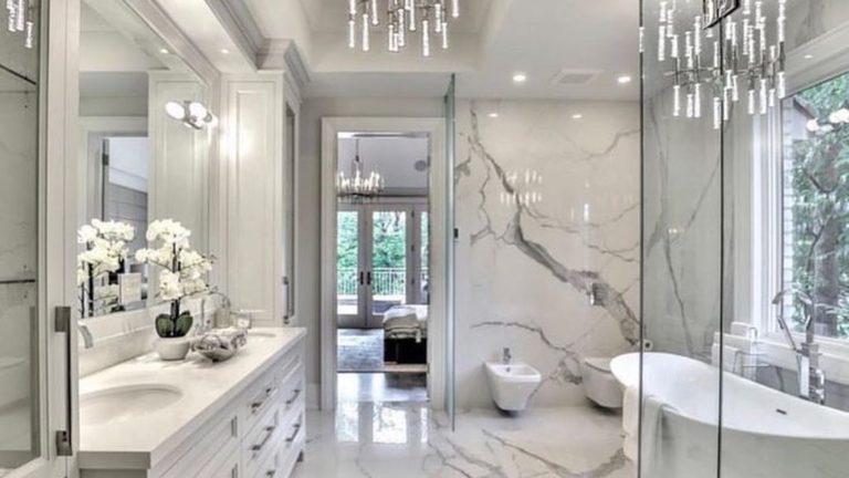 40 Beautiful Master Bathroom Design Ideas Magzhouse