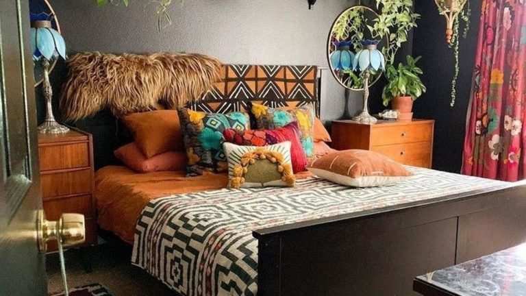 Lovely Eclectic Bedroom Decor Ideas 25