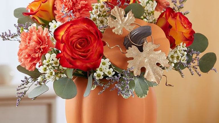 Nice Thanksgiving Flower Arrangements Design Ideas 27
