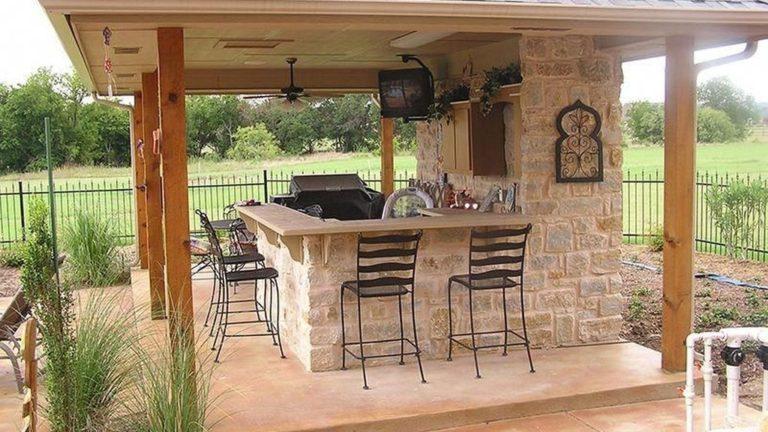 Stunning Outdoor Kitchen Design Ideas For Perfect Summer 10