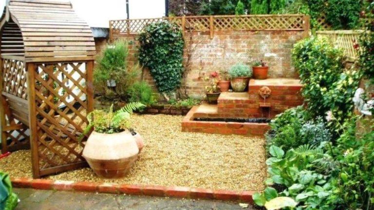 Wonderful Yard No Grass Design Ideas 22
