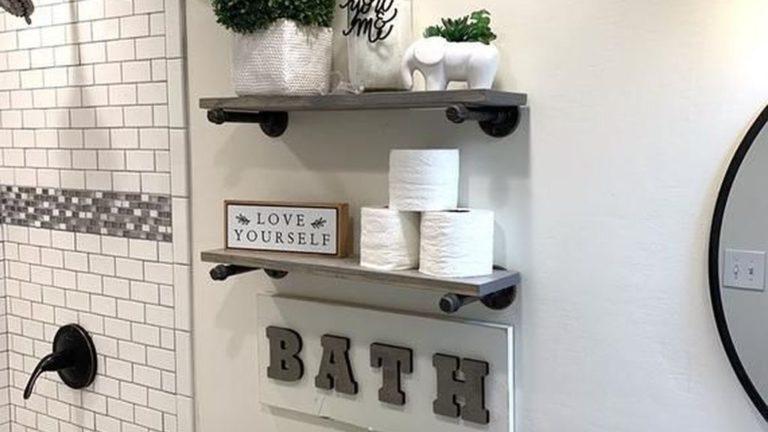 Amazing Farmhouse Bathroom Decor Ideas 07