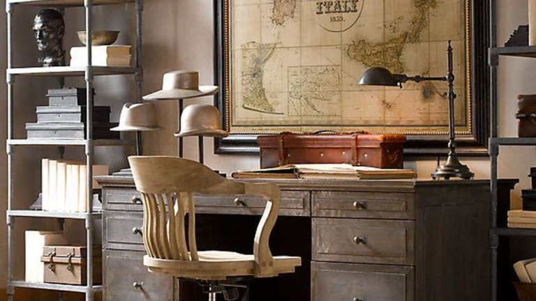 Gorgeous Home Office Design Ideas For Men 19