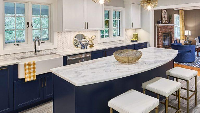 Gorgeous Kitchen Countertops Design Ideas 15