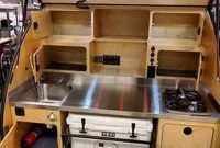 Inspiring RV Kitchen Design And Decor Ideas 06