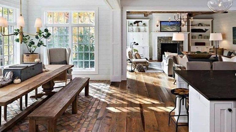 Stunning Farmhouse Interior Design Ideas To Realize Your Dreams 04