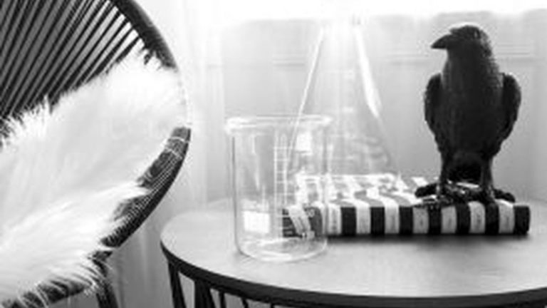 Stunning Black And White Halloween Decor Ideas For Your Home 23