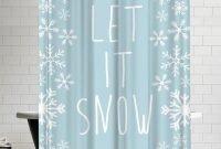 Awesome Winter Bathroom Shower Curtain Ideas 01