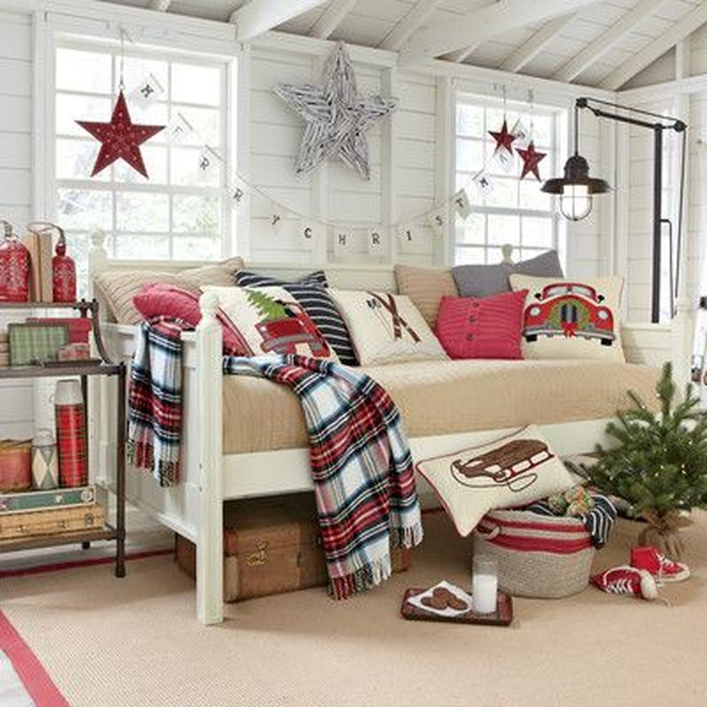 Lovely Christmas Kids Bedroom Decorations 30