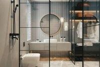 Stunning Industrial Bathroom Design Ideas 23