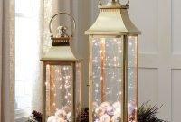 Inspiring Winter Lantern Centerpieces Decor Ideas 11