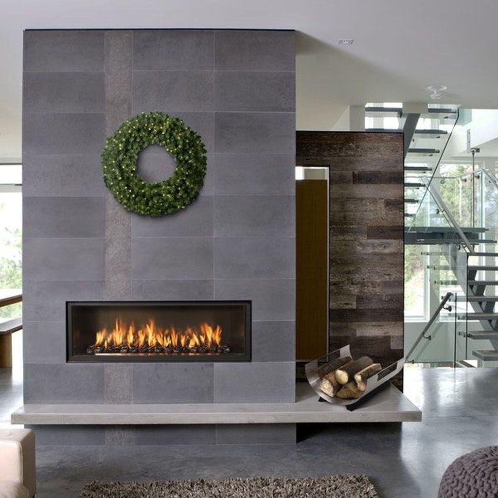 36 Popular Modern Fireplace Ideas Best For Winter Magzhouse