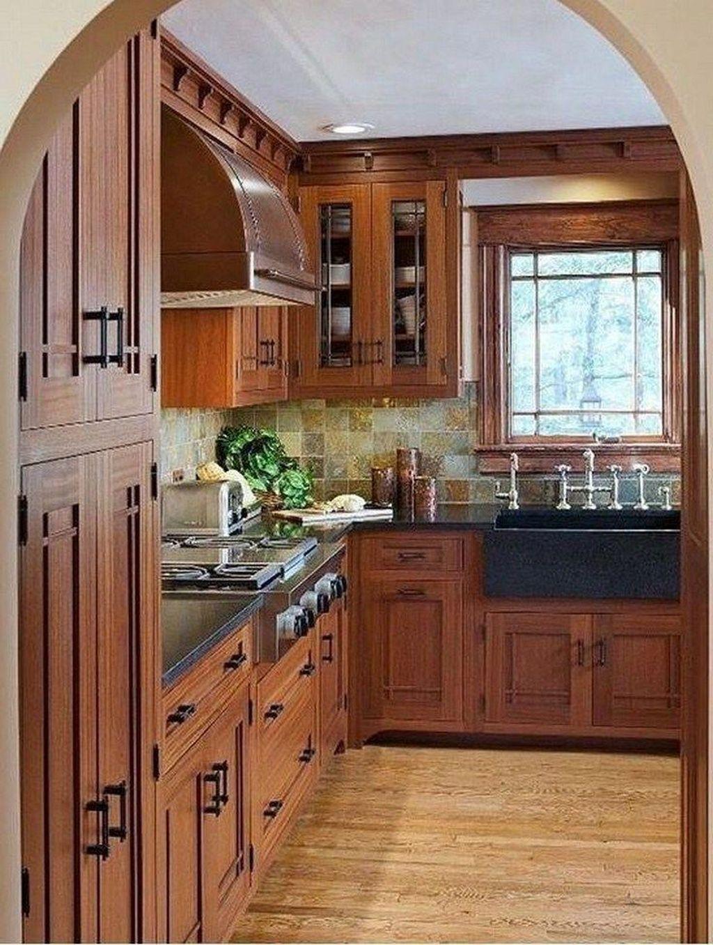 Fabulous Modern Rustic Kitchen Cabinets 21 - MAGZHOUSE
