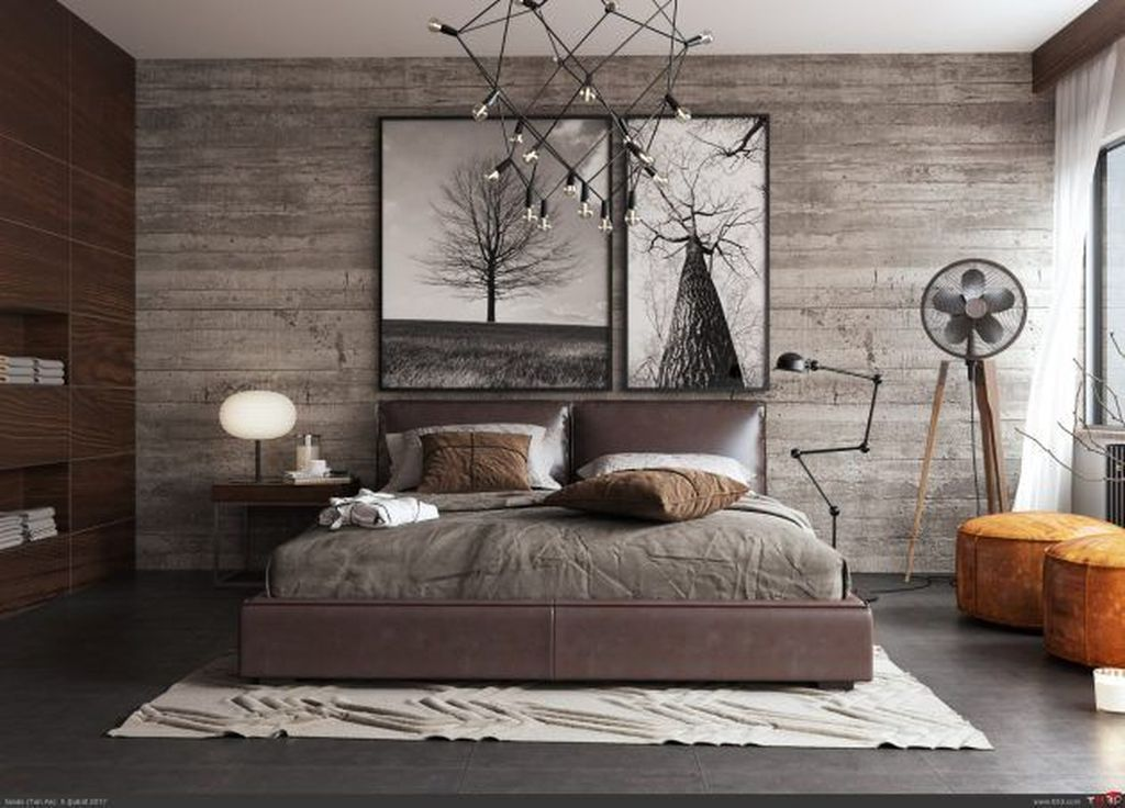 Gorgeous Rustic Bedroom Design And
