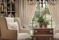 Popular French Country Living Room Decoration Ideas 11