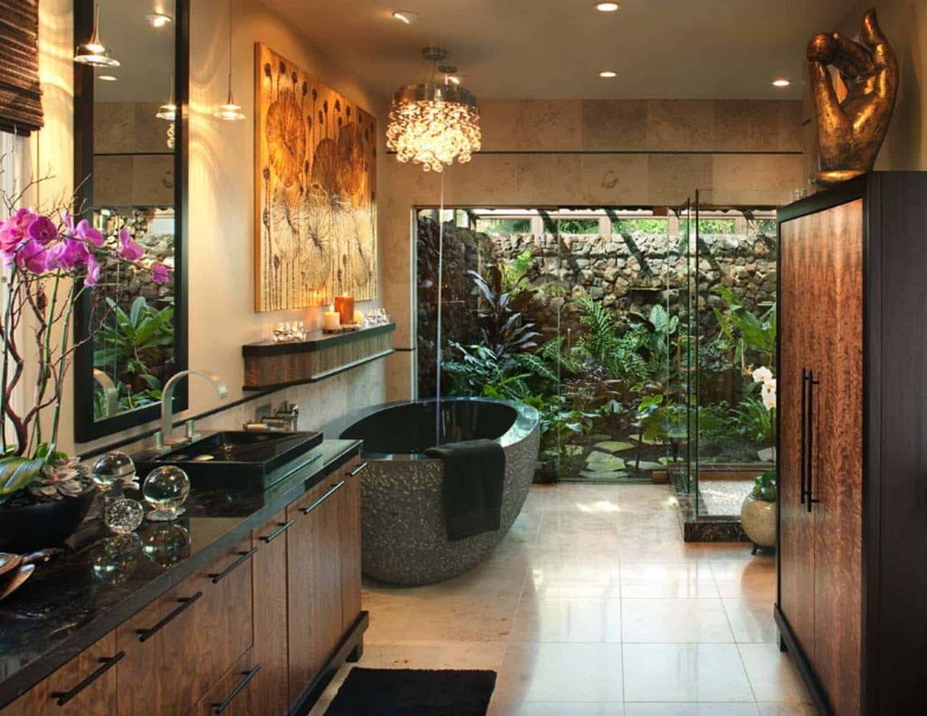 The Best Jungle Bathroom Decor Ideas To Get A Natural Impression 20 Magzhouse