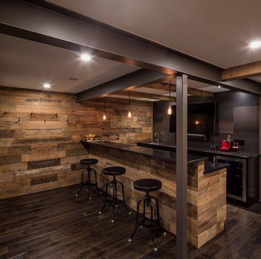 Stunning Basement Remodel Ideas Be A Beautiful Living Space 23