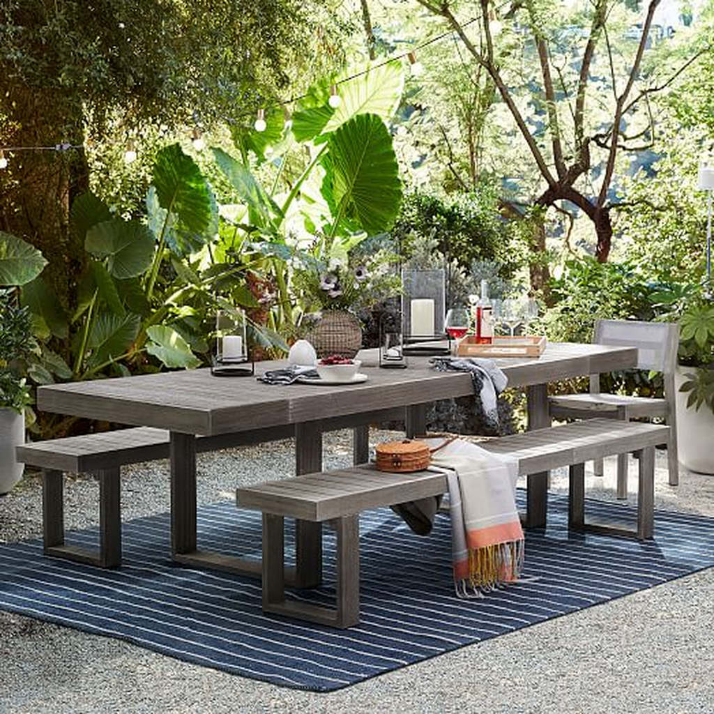 Inspiring Outdoor Dining Table Design Ideas 30