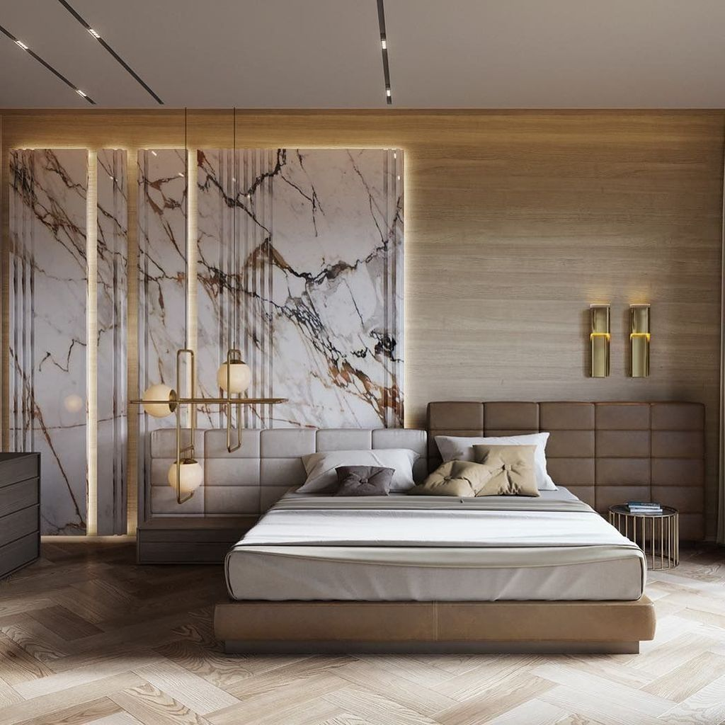 Wonderful Luxury Bedroom Design Ideas You Will Love 03