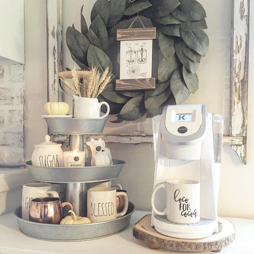 Popular Coffee Bar Ideas For Your Interior Design 33