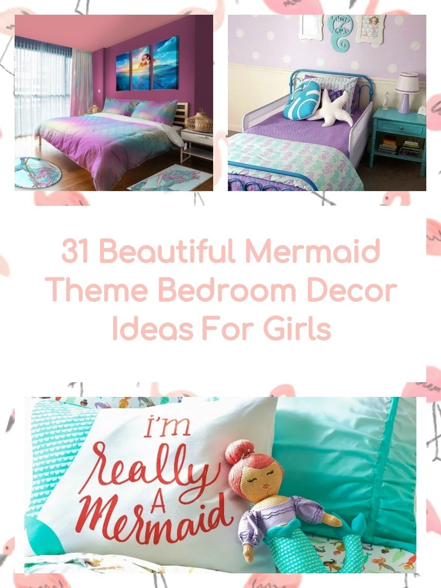 31 Beautiful Mermaid Theme Bedroom Decor Ideas For Girls