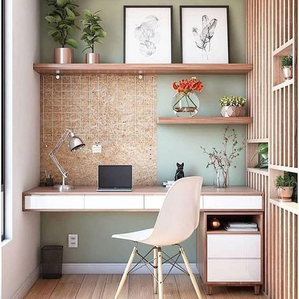 Awesome Scandinavian Home Office Design Ideas You Should Copy 10