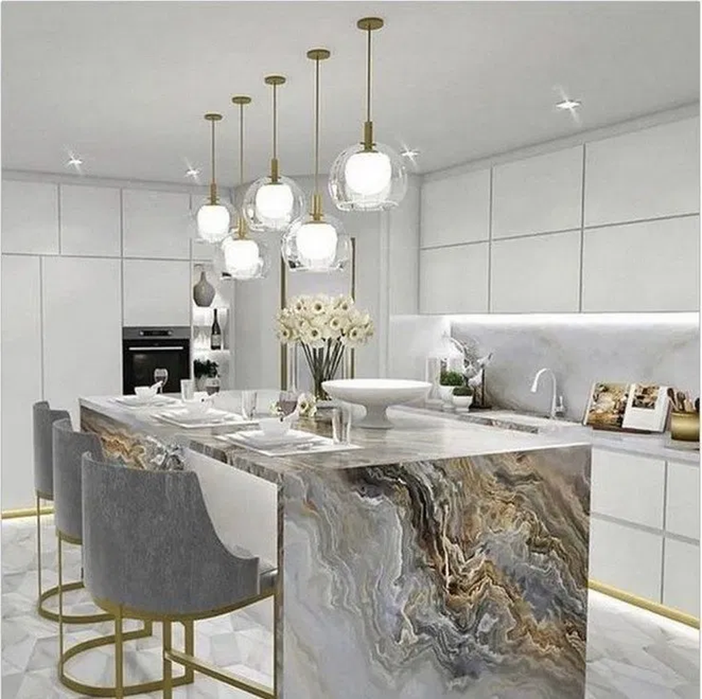 Lovely Luxury Kitchen Design Ideas You Never Seen Before 07