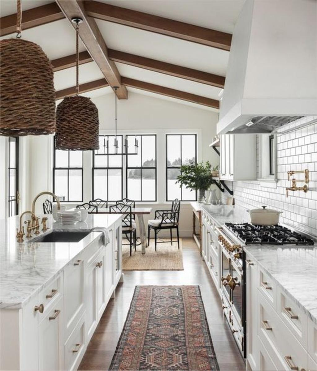 The Best Modern Farmhouse Kitchen Design Ideas 02 Magzhouse