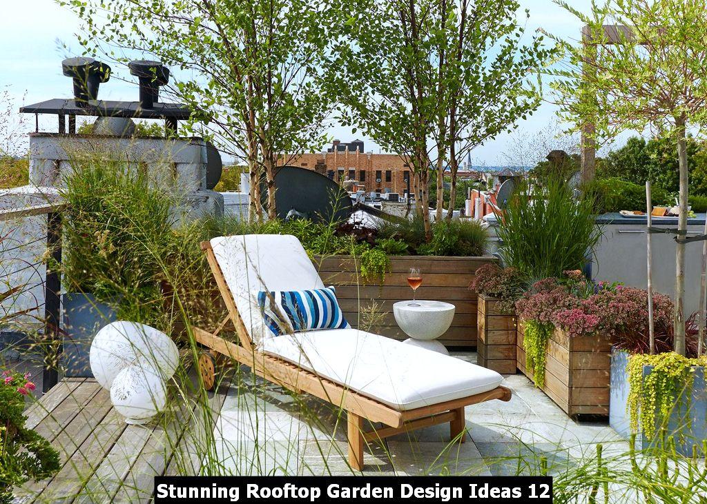 Stunning Rooftop Garden Design Ideas 12 Magzhouse