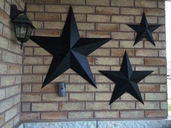 Metal Star Outdoor Decor