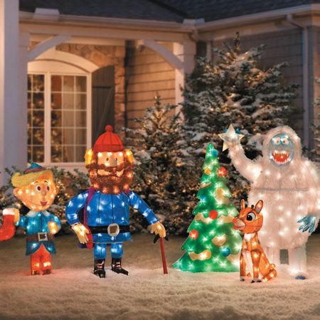Rudolph The Red Nosed Reindeer Outdoor Decorations