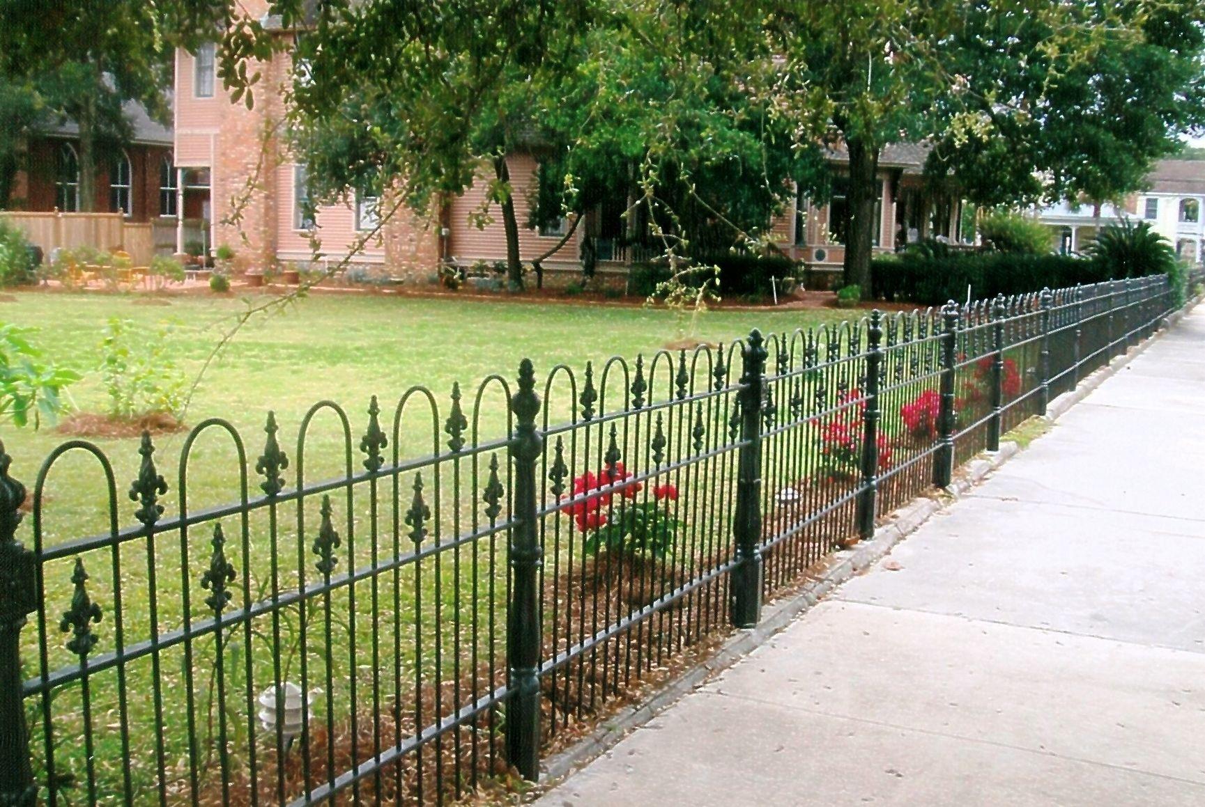 Decorative Metal Garden Fencing