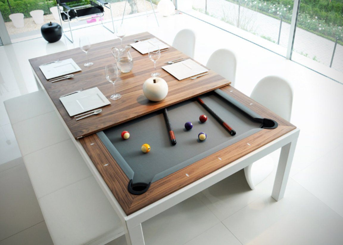 Pool Table Dining Room Table