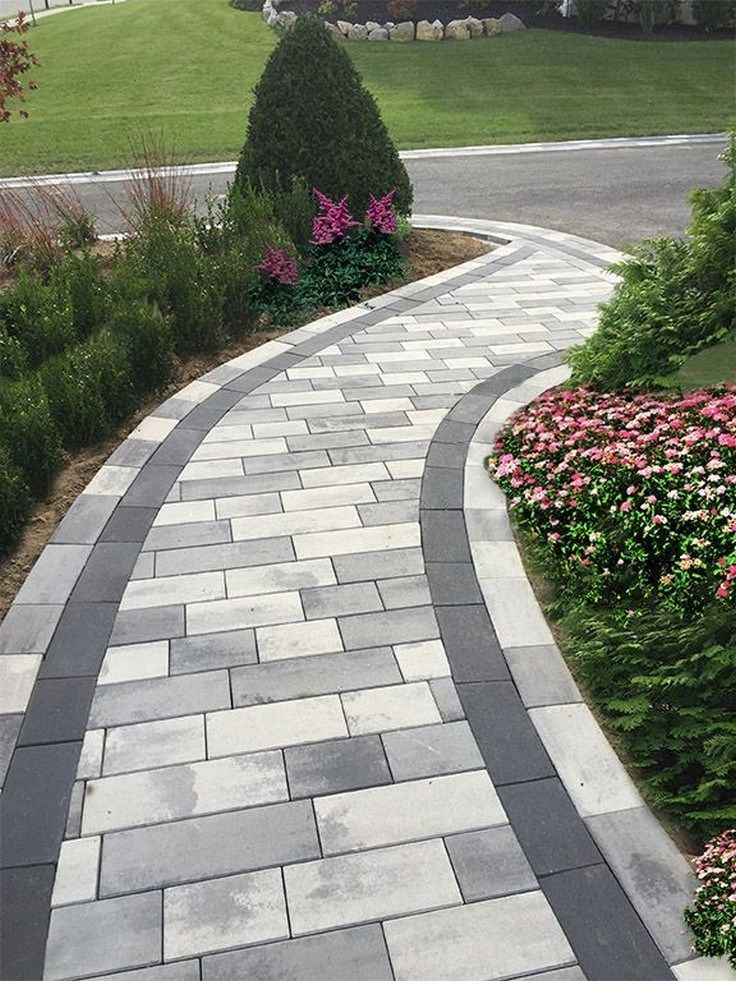 Front Yard Paver Ideas