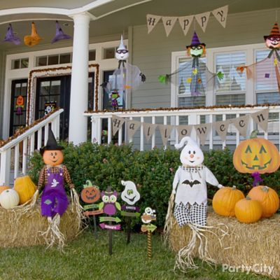 Halloween Outdoor Decorations Party City
