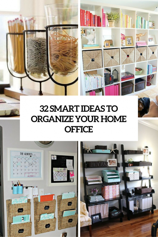 How To Organize Home Office