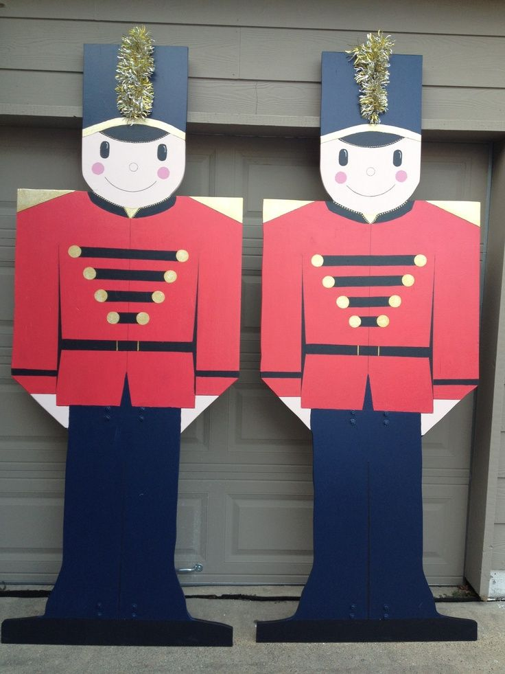 Toy Soldier Outdoor Decoration