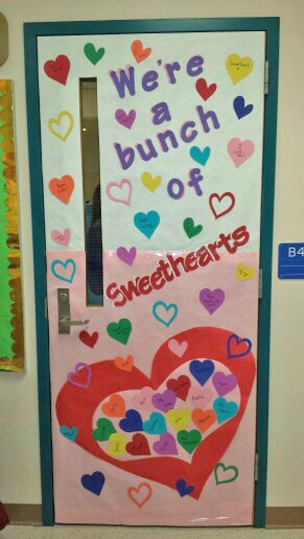 Valentines Day Door Decorating