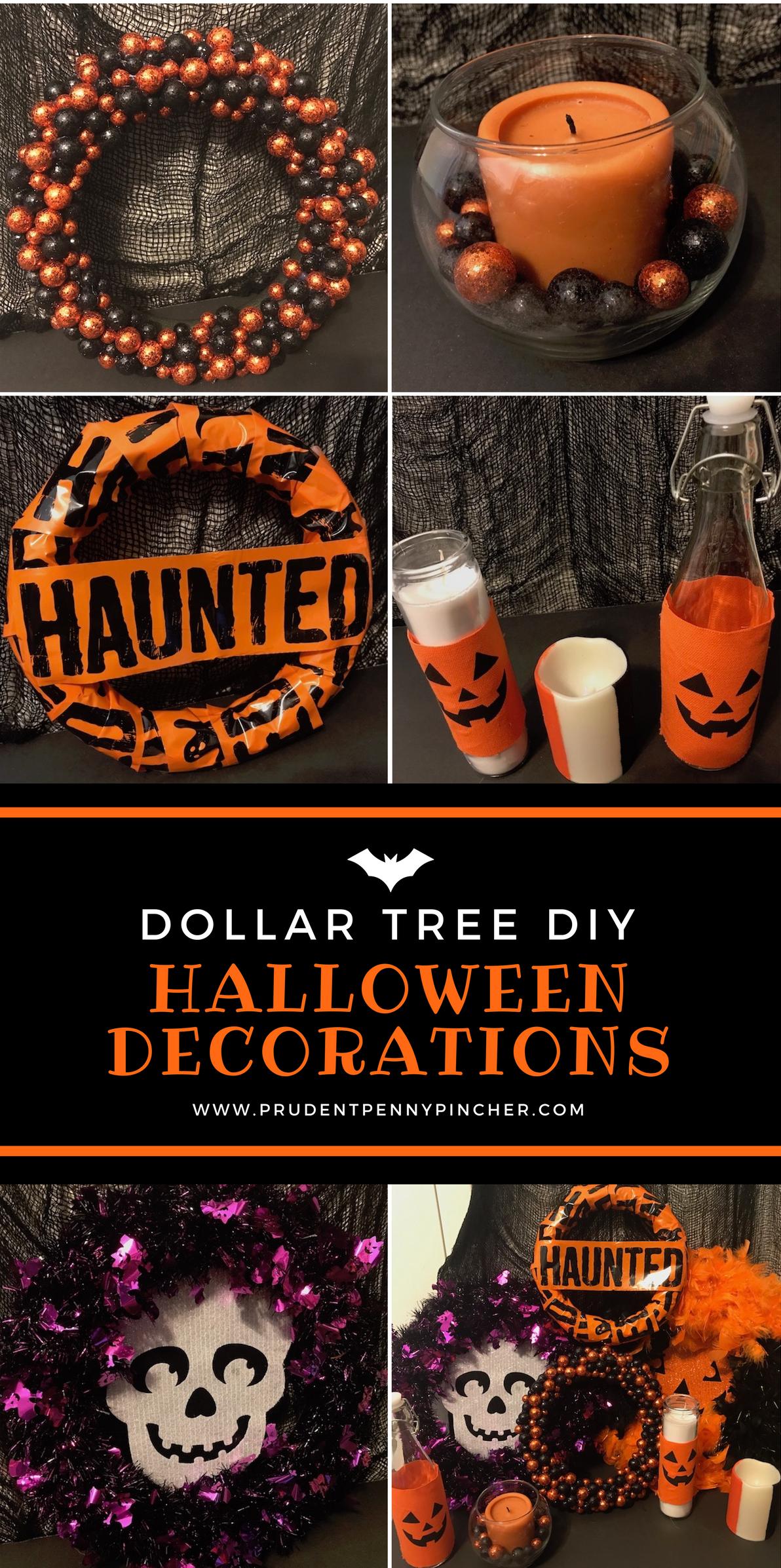 Dollar Tree Halloween Decorations