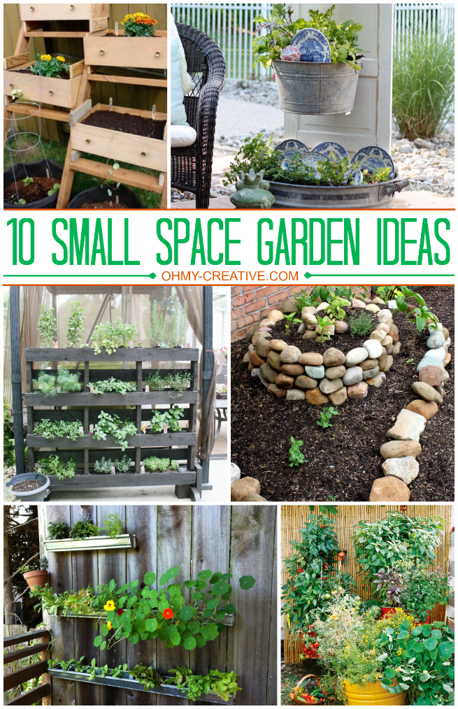 Cheap Garden Ideas Small Gardens