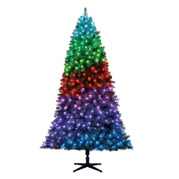 Twinkly Pre Lit 7.5 Vermont Spruce Artificial Christmas Tree