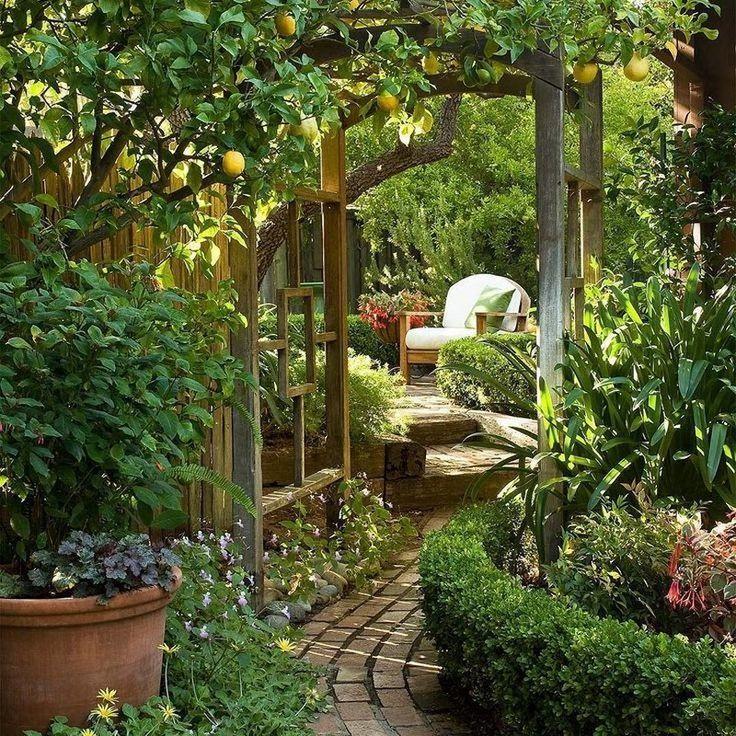 Backyard Secret Garden Ideas