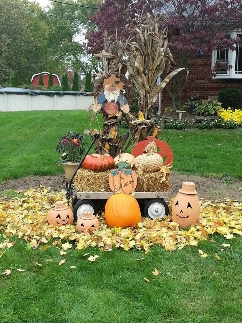 Front Yard Thanksgiving Outdoor Decorations