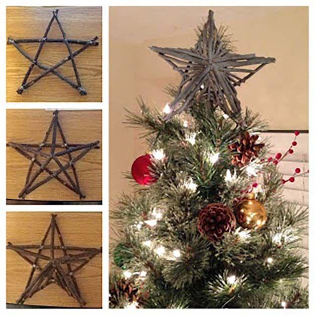 DIY Christmas Tree Topper