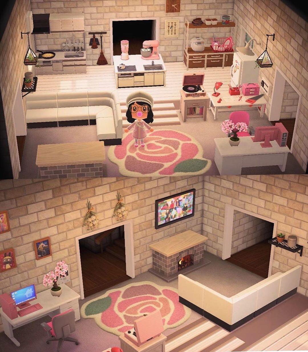 Animal Crossing Living Room