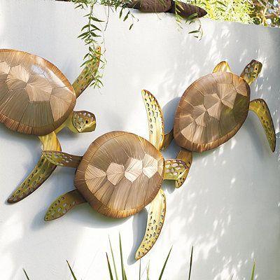 Sea Turtle Outdoor Decor